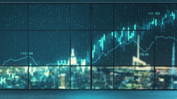 Des graphiques de trader