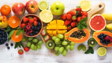 farandole de fruits frais